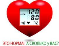 Измерение артериального давления монитором СМАД